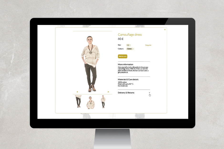 emailing design fashion