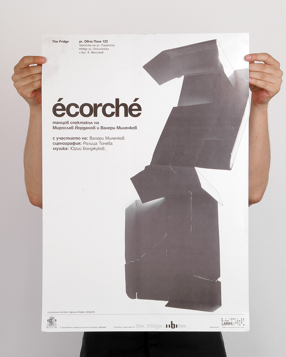 Graphic design for Ecorché theater