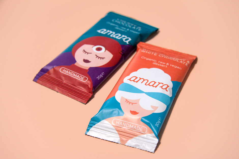 Packaging for a producer of organic dessert bars