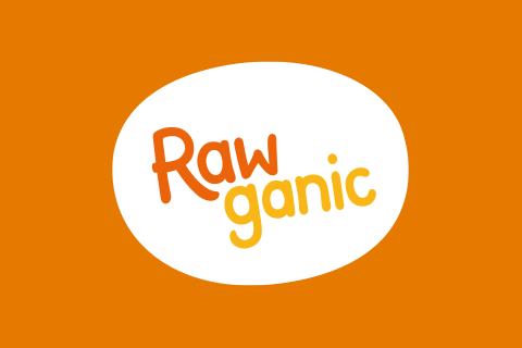 Logo for a producer of organic snacks