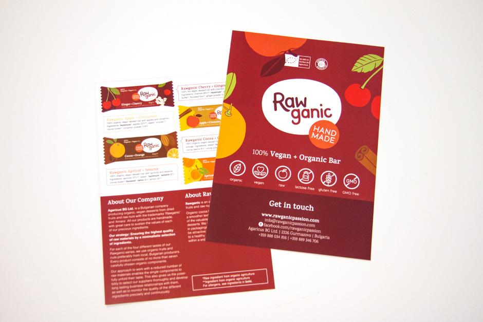 Raw Bar Advertisement Leaflet