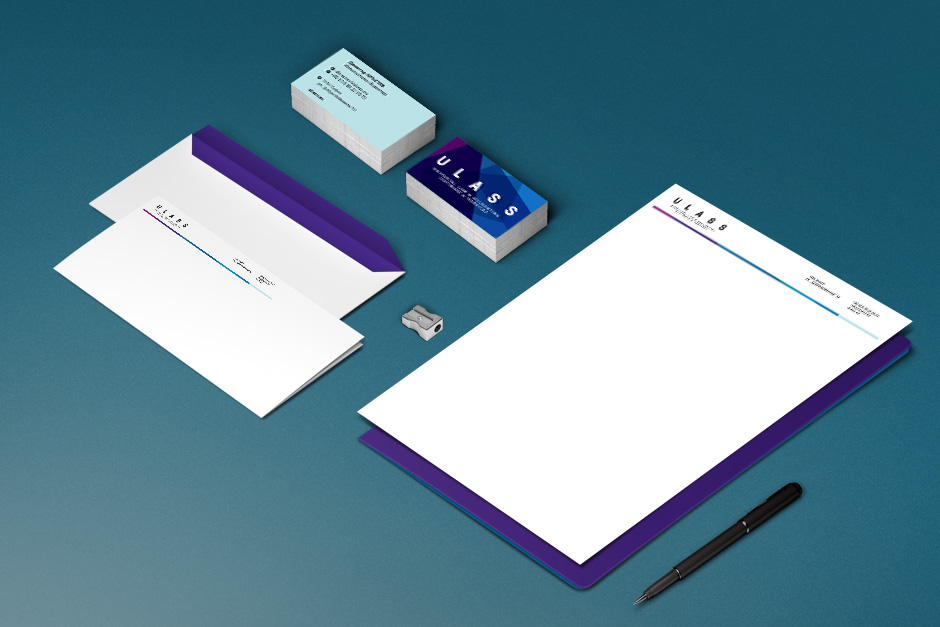 Stationery for a provider of accounting services