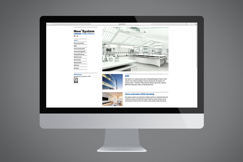 Full concept, design and content for a website in the energy sector