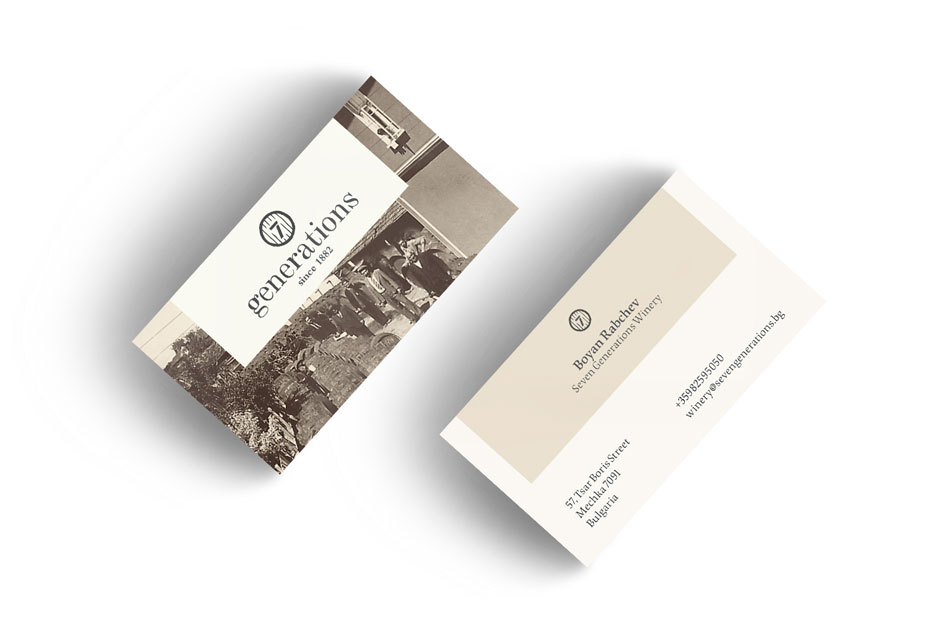 Logo and stationery proposal for a family run vineyard