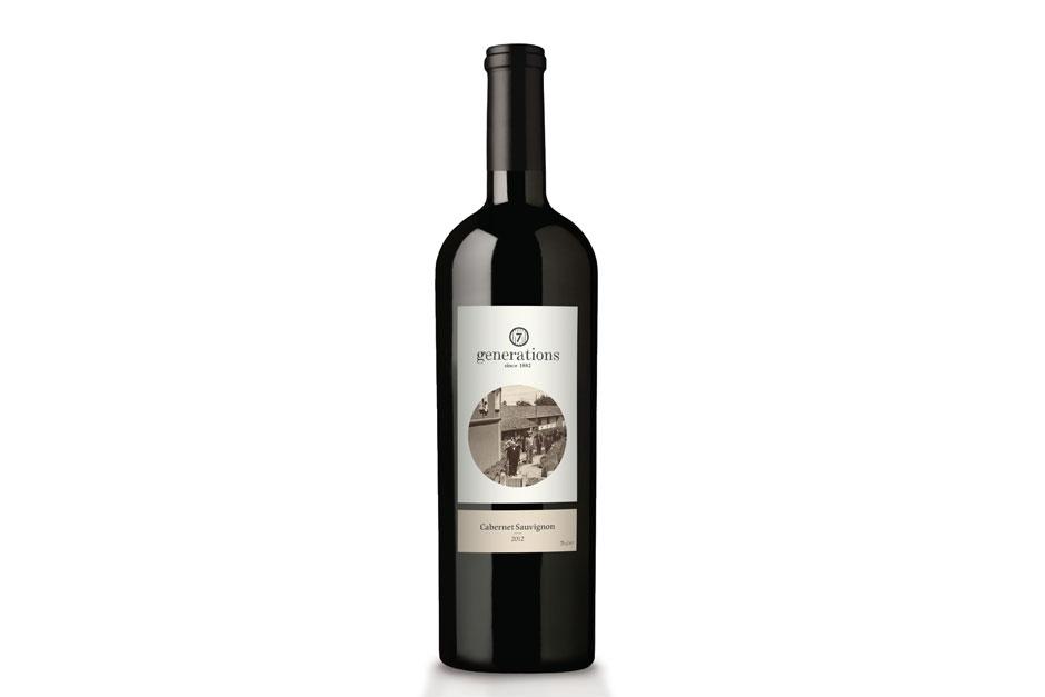 Weinetikettendesign für ein familiengeführtes Unternehmen